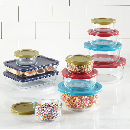 34pc Pyrex Food Storage Glass Sets $28.68