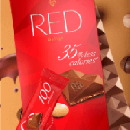 Free Red Chocolate Bar at Giant and Martin