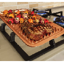 Red Copper Ceramic Reversible Grill $12.79
