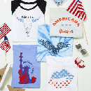 Red White & Blue Graphic Tees $16.99