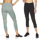 Reebok Womens Ascend Capri Leggings $12.25