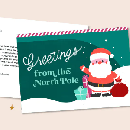 FREE Customized Postcards from Santa