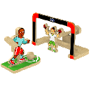 FREE Soccer Goal DIY Kids' Workshop Kit