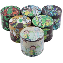 Rick and Morty Spice & Tobacco Grinder $12