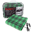 Stalwart Heated Fleece Travel Throw $14.99