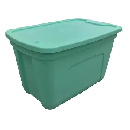 18-Gallon Storage Tote with Lid $4.98