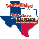 Free Take Care of Texas Sticker