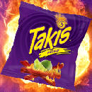 FREE sample of Takis Rolled Tortilla Chips