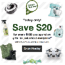 $20 Off for every $100 you Spend Online