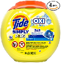 8 Tubs of 55-Count Tide Simply Pods $16.88