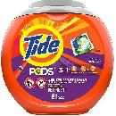 Tide PODS 81-Count Tub $10.99 or $8.99