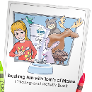 Coloring Book From Toms of Maine