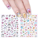 FREE Top Glamour Nail Water Decals