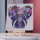 Wooden Elephant Puzzle & Stand $7.99