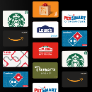 FREE $3 Gift Card of Your Choice