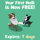 Wag! is offering free dog walks!