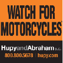 FREE Watch for Motorcycles Window Cling