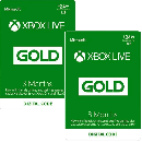 Xbox LIVE 6 Month Gold Membership $21