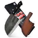 Butcher Cleaver with Leather Sheath $20.94