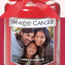 FREE Personalized Photo Candle Label