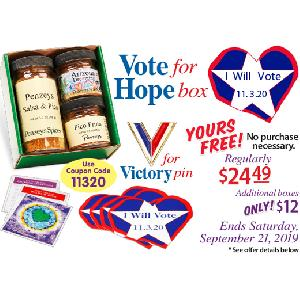FREE Vote for Hope Gift Box