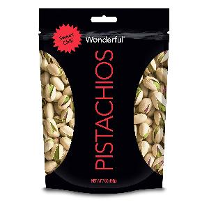 Wonderful Pistachios Sweet Chili 7oz $2
